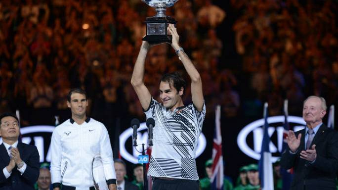 Dev finali Federer kazandı