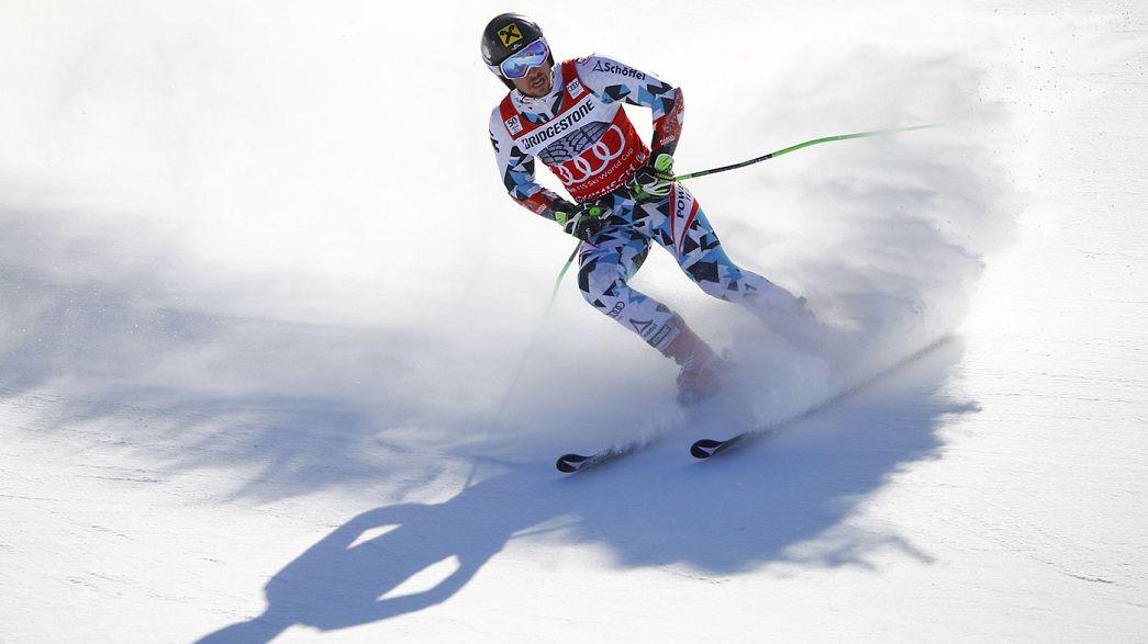 Esqui alpino: Hirscher dita a lei do mais forte em Garmisch-Partenkirchen