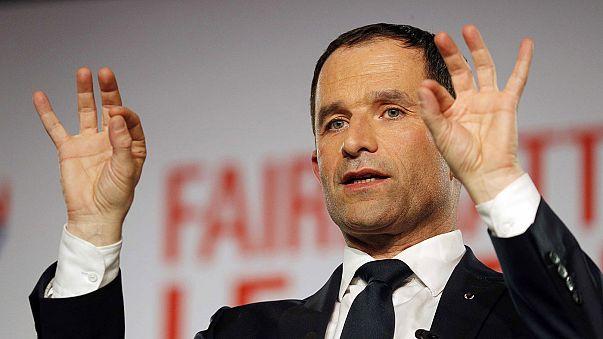 Benoît Hamon gana las primarias del Partido Socialista francés