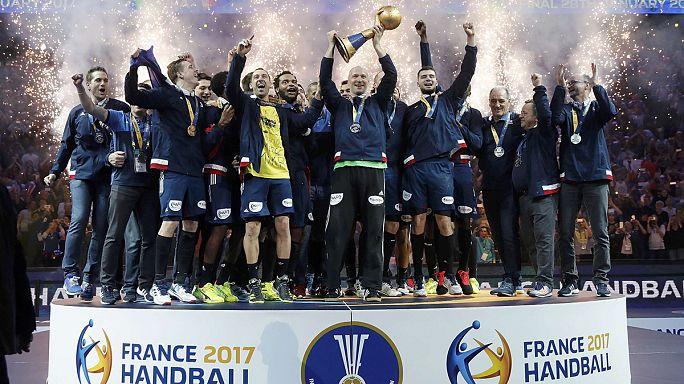 Frankreichs goldene Handball-Generation feiert sechsten WM-Titel