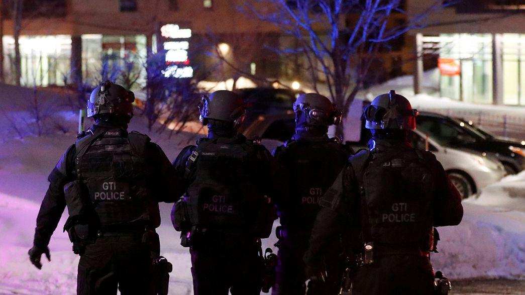 Québec endeuillé par une fusillade