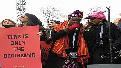 Angelique Kidjo, a key figure in the US Women's March [Culture on TMC]