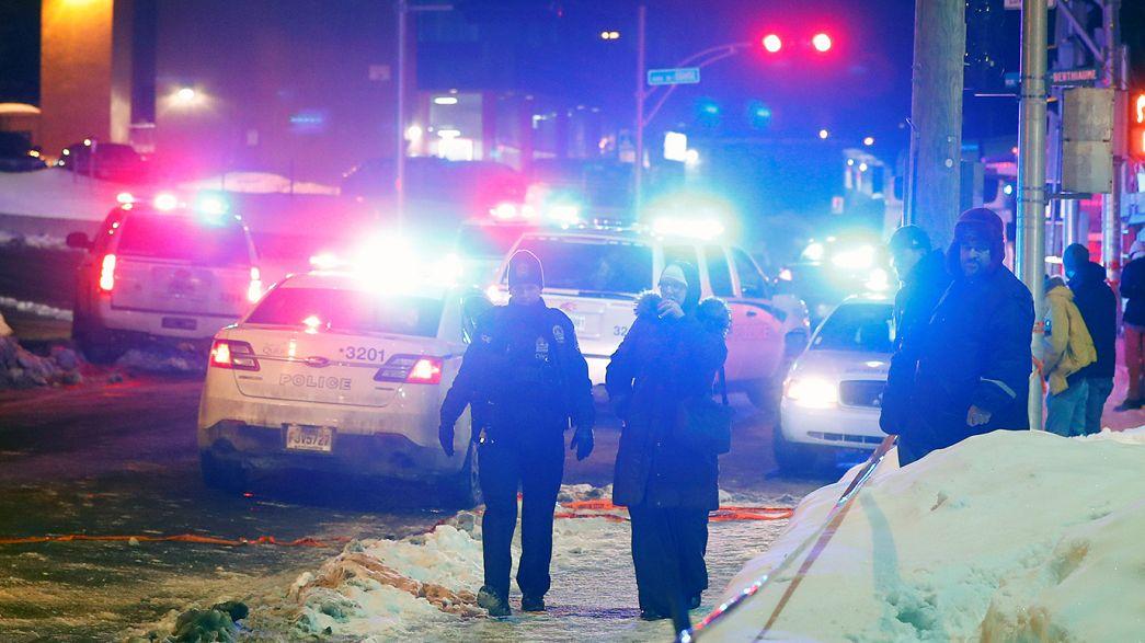 Canada PM Trudeau condemns Quebec mosque terror attack