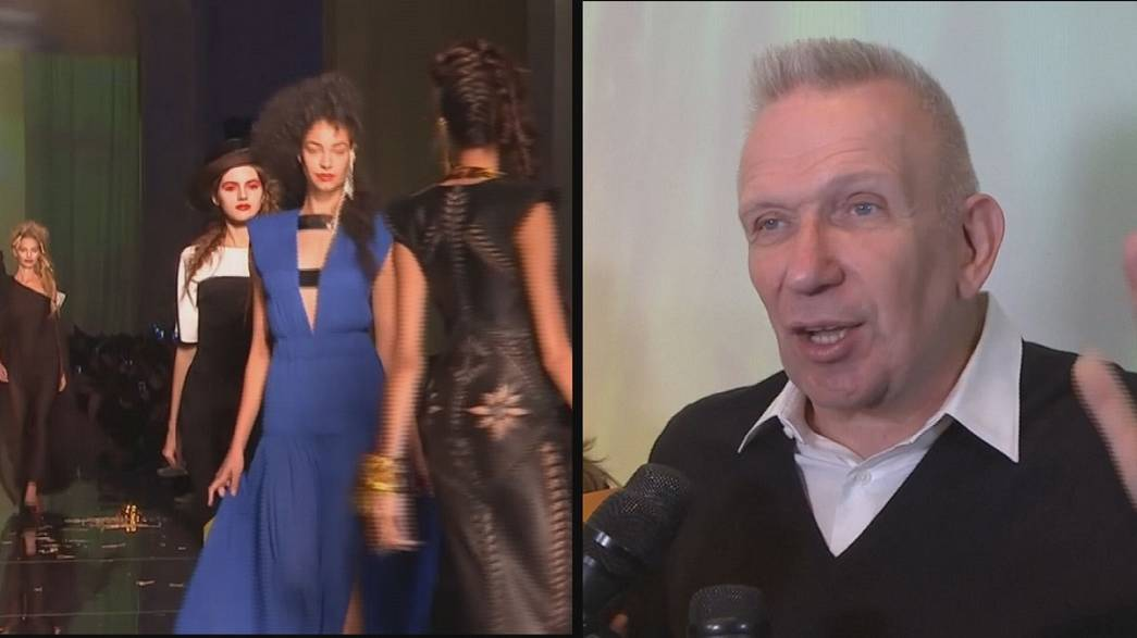 "A ""natureza"" de Jean Paul Gaultier invade Paris"