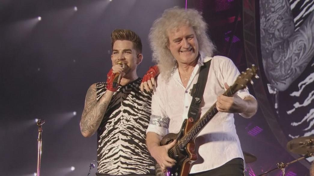 Im Sommer wieder auf Tournee: Queen und Adam Lambert