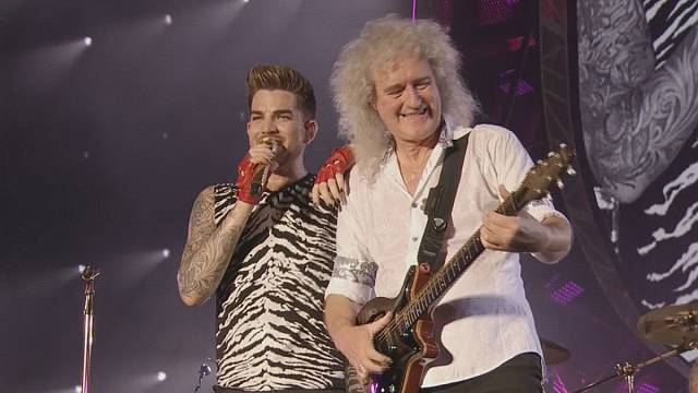 Adam Lambert e i Queen in tour