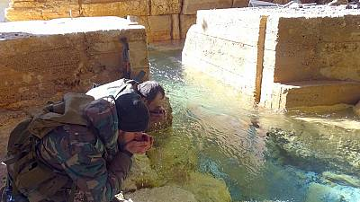 Syrian army takes full control of water source city Wadi Barada