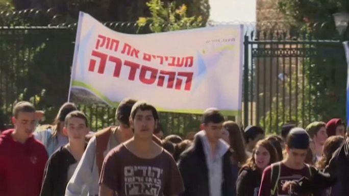 Jerusalem: Demonstration für Legalisierung Tausender Siedlerwohnungen