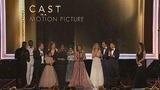 Schauspieler kritisieren Trump bei den SAG-Awards