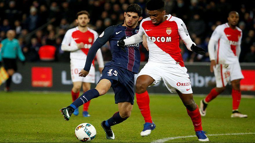 Monaco e Cavani protagonisti del campionato francese
