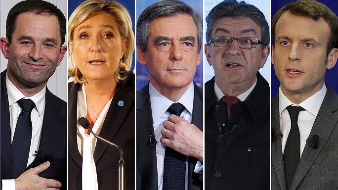 França: Candidatos à eleição presidencial têm três meses para convencer um eleitorado muito dividido