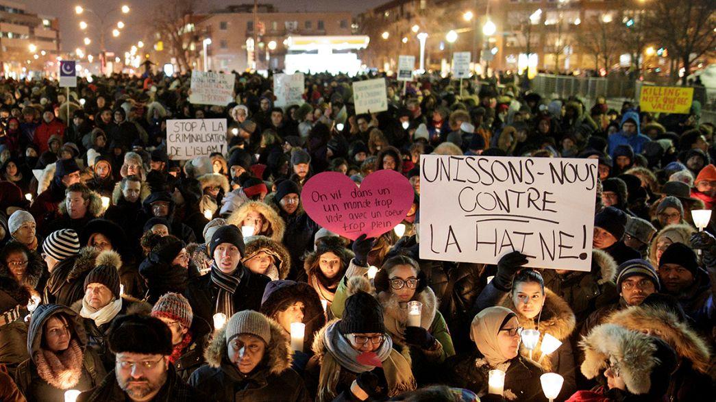 Canadians hold vigils for Muslim victims of Quebec terror attack
