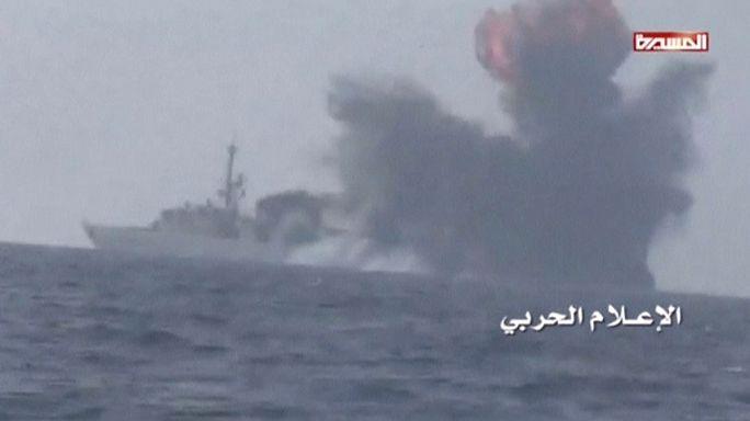 Хуситы взяли на себя ответственность за нападение на саудовский фрегат