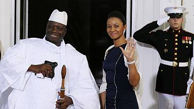 Senegal arrests 4 guards of Mrs Jammeh as they tried fleeing The Gambia
