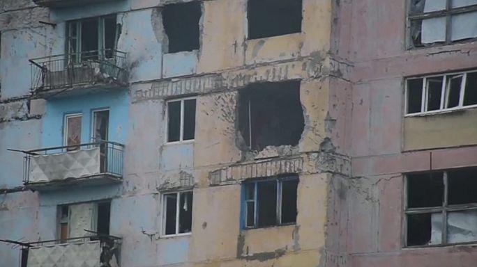 Kiev e Moscovo trocam acusações sobre combates em Donetsk