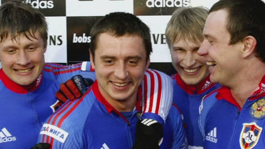 Campeão olímpico de Bobsleigh suspenso por dopagem