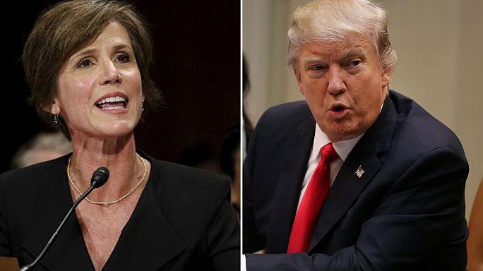 Skandal in Washington: Trump feuert Justizministerin Yates