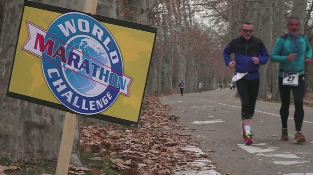 Die Marathon-Weltreise