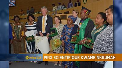 Le prix scientifique Kwame Nkrumah recompense l'excellence africaine [Hi-Tech]