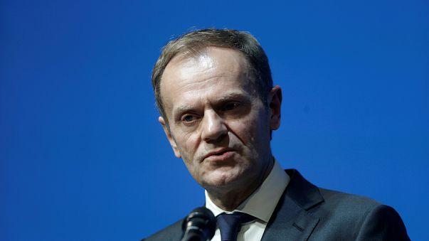 Breves de Bruxelas: Tusk apela à unidade para defender União