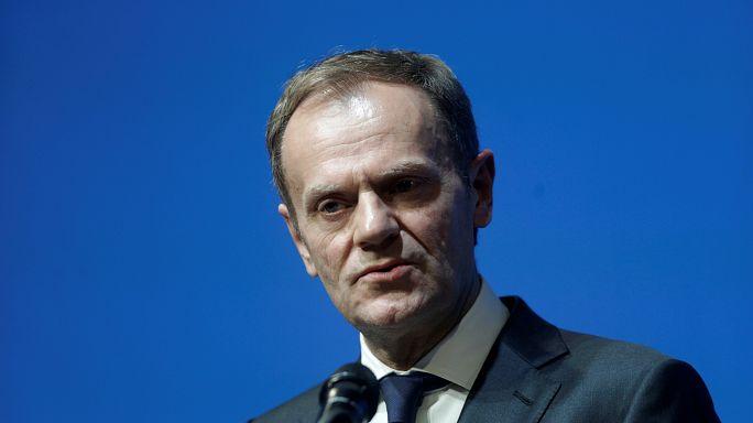 """""""Uniti avanziamo, divisi cadiamo"""", l'appello di Tusk ai leader europei"""