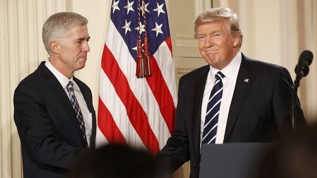 Trump veut ancrer la Cour Suprême dans le conservatisme avec la nomination de Gorsuch