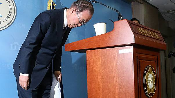 """""""Sem sentido"""": Ban Ki-Moon rejeita candidatar-se à presidência da Coreia do Sul"""