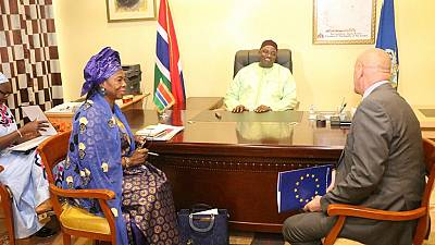 The Gambia to receive €33m EU support frozen under Jammeh regime