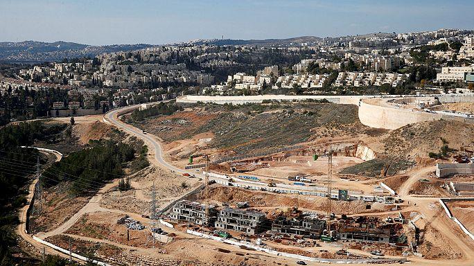 Újabb telep létesül, Izrael folytatja a lakásépítést a palesztin területeken