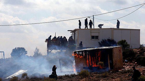 Las fuerzas israelíes preparan la inminente evacuación de la colonia de Amoná