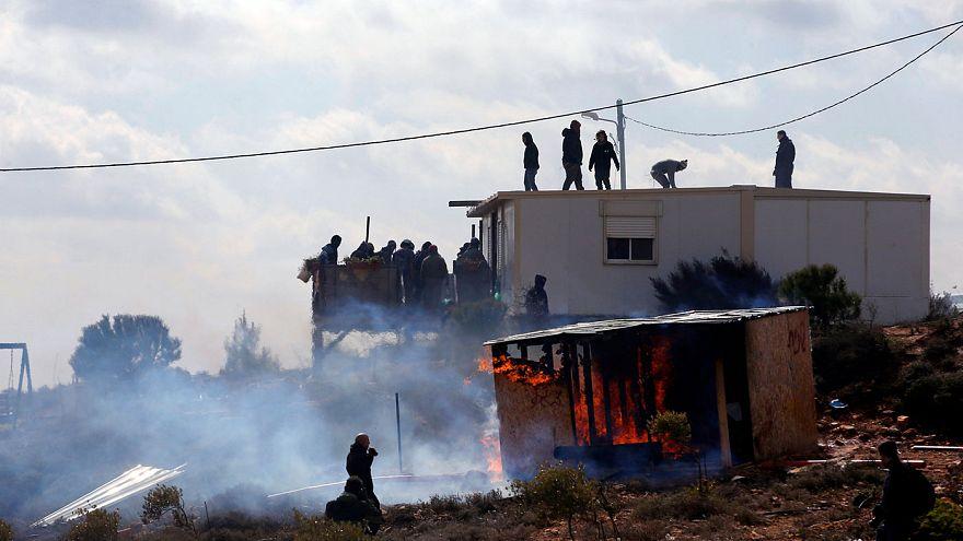 Batı Şeria'da olaylı Yahudi yerleşim birimi tahliyesi
