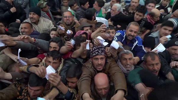 Irak : les habitants de Mossoul manquent de tout