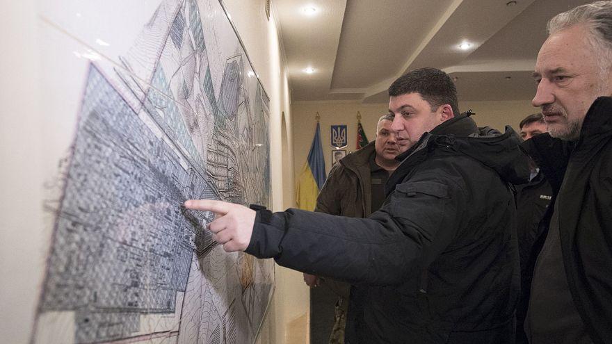 Ukrayna'nın Donetsk bölgesinde silahlar susmuyor
