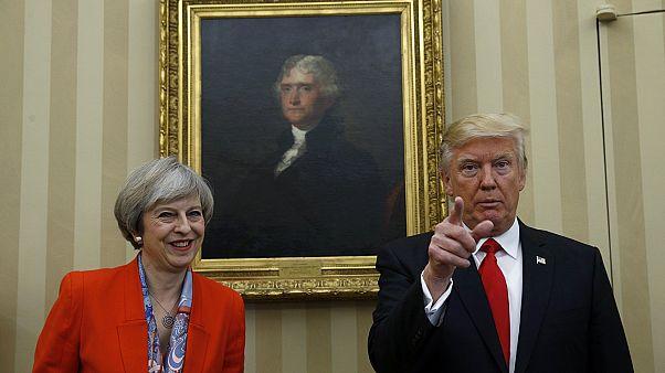 Debate sobre visita de Trump ao Reino Unido