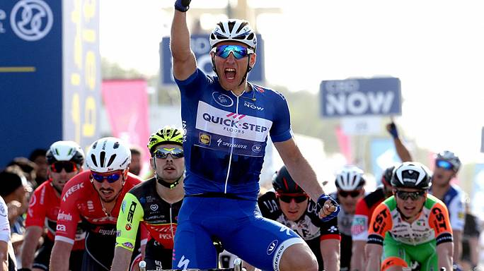 Cycling: Kittel maintains perfect start at 2017 Dubai Tour