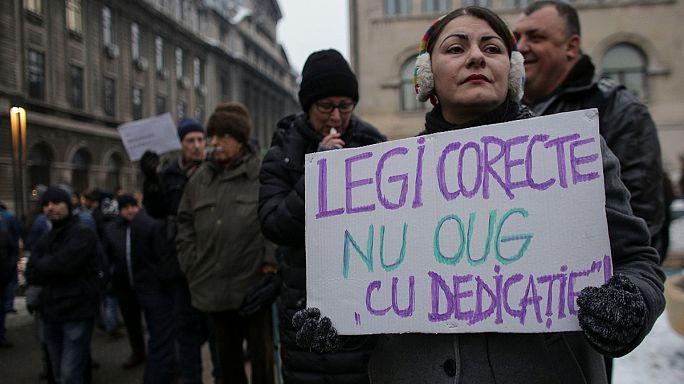 Korrupció: Brüsszel rosszallja a román kabinet lépését