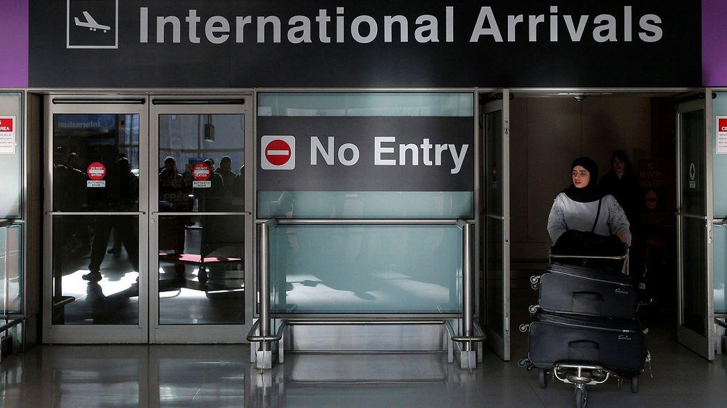 Le décret américain anti-immigration agite le Parlement européen
