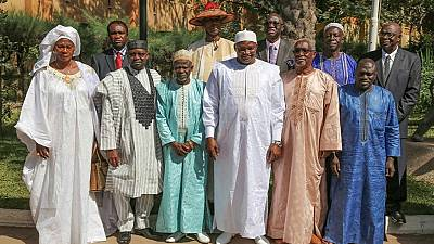 Political prisoners among 10 ministers sworn-in by Gambia's president