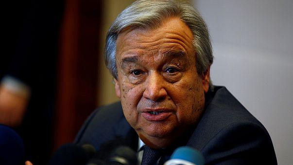 BM Genel Sekreteri Guterres: Vize yasağı hemen iptal edilmeli