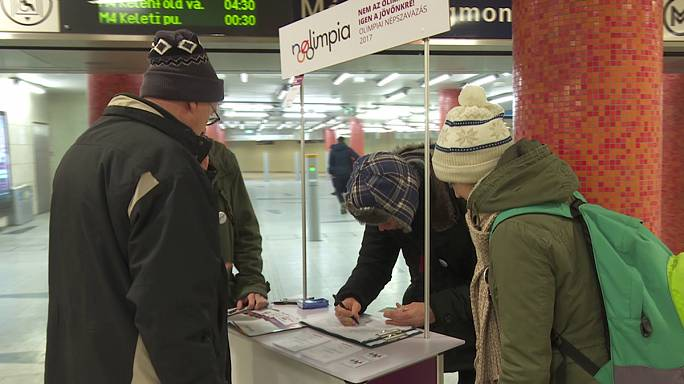 'NOlimpia' referendum initiative grows in Budapest