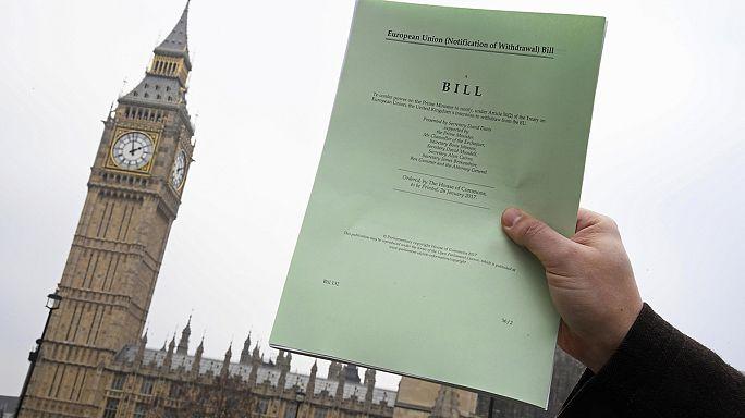 Brexit-Gesetz nimmt erste Hürde im britischen Unterhaus