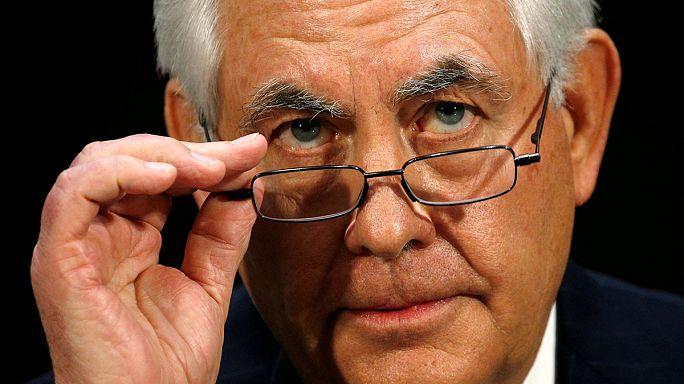 مجلس الشيوخ الامريكي يصادق على تعيين تيلرسون في منصب وزير الخارجية