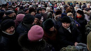 """Comienza la evacuación de Avdiyvka, una ciudad ucraniana """"maltratada"""" por la guerra"""
