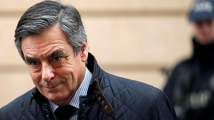 Scandal-hit Francois Fillon slips in French presidency poll