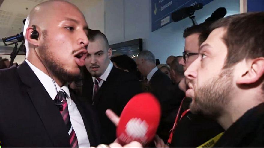 Journalist bei Le-Pen-Veranstaltung gewaltsam herausgeworfen