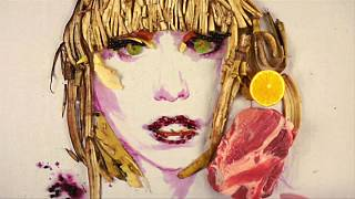 Pavlo Bondar ünlü yüzleri yiyeceklerle resmediyor
