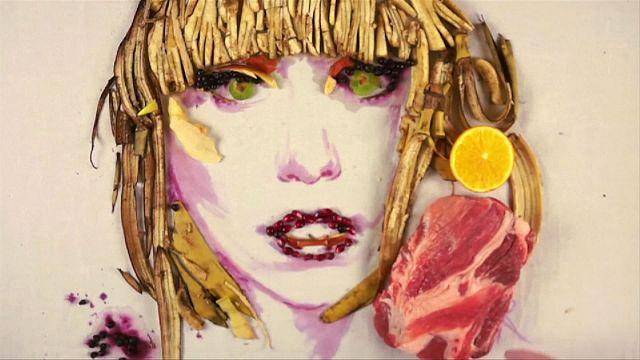 Pintando con alimentos