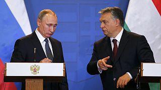 Húngria: Putin e Orban juntos no desafio à Europa