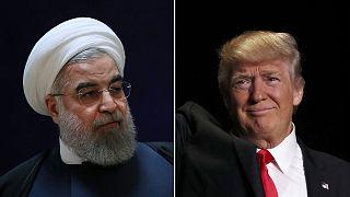 Trump nekiment Iránnak a twitteren