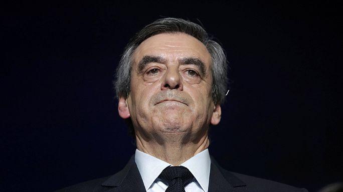 Fillon quedaría eliminado en la primera vuelta de las presidenciales francesas según un sondeo